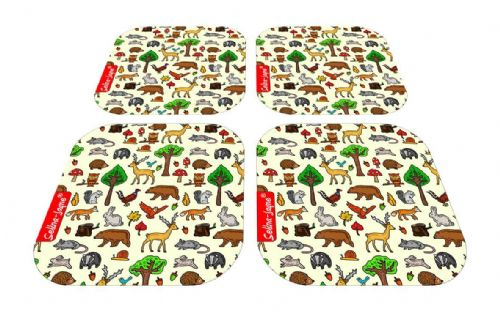 Selina-Jayne Woodland Animals Limited Edition Designer Coaster Gift Set